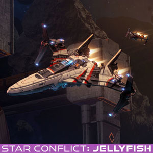 Star Conflict Guardian of the Universe Jellyfish