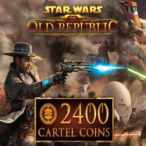 Star Wars The Old Repbulic 2400 Cartel Coins
