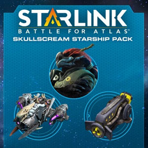 Starlink Battle for Atlas Digital Skullscream Starship Pack