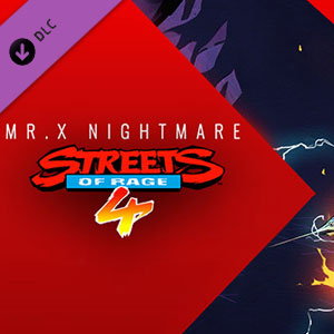 Streets Of Rage 4 Mr. X Nightmare