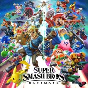 Super Smash Bros Ultimate Pyra & Mythra Challenger Pack