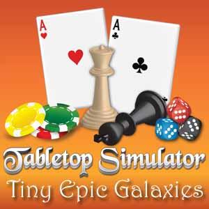 Tabletop Simulator Tiny Epic Galaxies