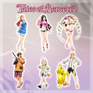 Tales of Berseria Summer Holiday Costume Pack