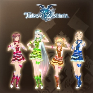 Tales of Zestiria The Idolmaster Costume Set