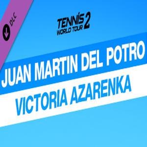 Tennis World Tour 2 Juan Martin Del Potro and Victoria Azarenka