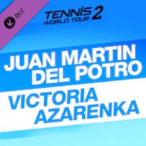 Tennis World Tour 2 Juan Martin Del Potro & Victoria Azarenka