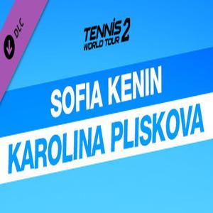 Tennis World Tour 2 Sofia Kenin and Karolina Pliskova