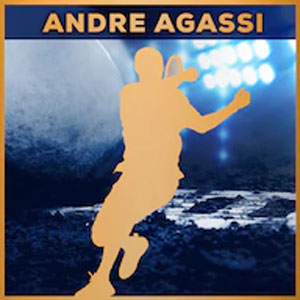 Tennis World Tour Andre Agassi