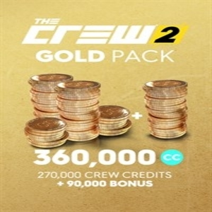 The Crew 2 Gold Credits Pack