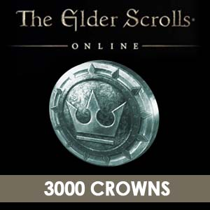 The Elder Scrolls Online 3000 Crowns Digital Download Price Comparison
