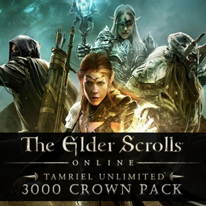 The Elder Scrolls Online Tamriel Unlimited 3000 Crown Pack Digital Download Price Comparison