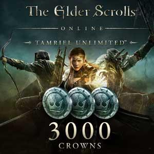 The Elder Scrolls Online Tamriel Unlimited 3000 Crowns Xbox One Code Price Comparison