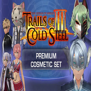The Legend of Heroes Trails Of Cold Steel 3 Premium Cosmetic Set