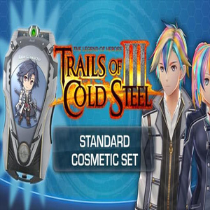 The Legend of Heroes Trails Of Cold Steel 3 Standard Cosmetic Set