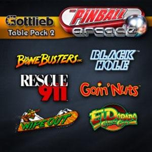 The Pinball Arcade Gottlieb Table Pack 2