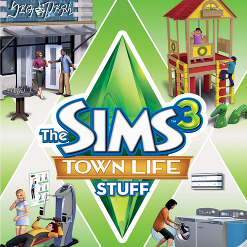 The Sims 3 Town Life Stuff Digital Download Price Comparison
