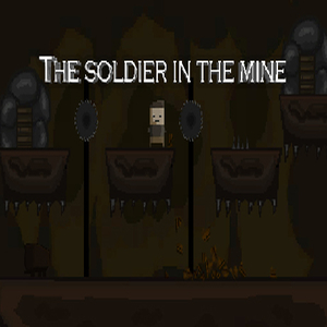 The soldier in the mine