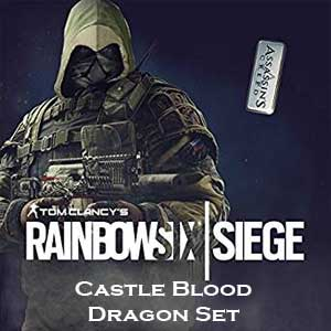Tom Clancy's Rainbow Six Siege Castle Blood Dragon Set