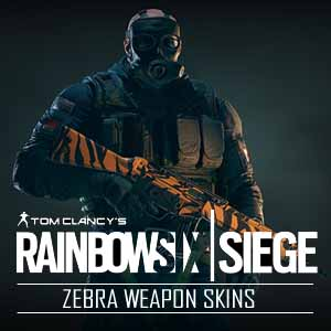 Tom Clancys Rainbow Six Siege Zebra Weapon Skins PS4 Code Price Comparison