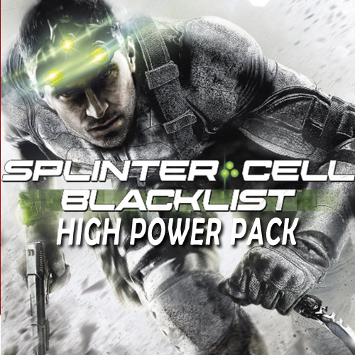 Tom Clancys Splinter Cell Blacklist High Power Pack Digital Download Price Comparison