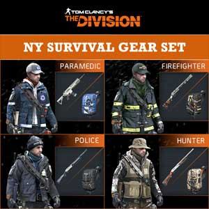 Tom Clancys The Division NY Survival Gear Set Digital Download Price Comparison