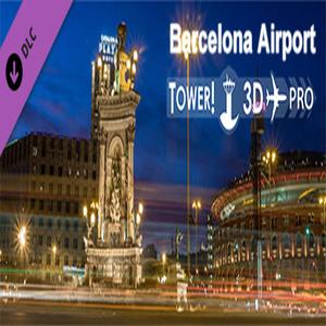 Tower 3D Pro LEBL airport