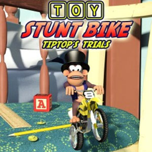 Toy Stunt Bike Tiptop's Trials