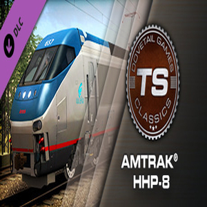 Train Simulator Amtrak HHP-8 Loco Add-On