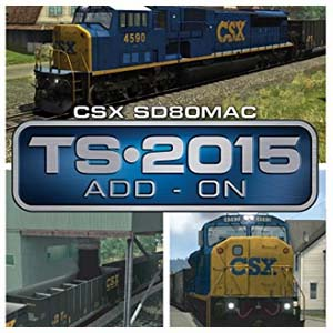 Train Simulator CSX SD80MAC Loco Add-On Digital Download Price Comparison