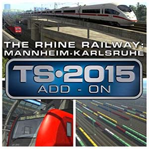 Train Simulator The Rhine Railway Mannheim Karlsruhe Route Add-On Digital Download Price Comparison