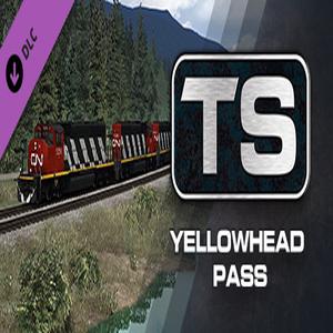 Train Simulator Yellowhead Pass Jasper Valemount Route