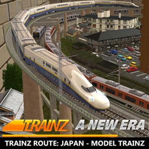 Trainz A New Era Trainz Route Japan Model Trainz