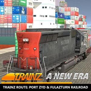 Trainz A New Era Trainz Route Port Zyd & Fulazturn Railroad