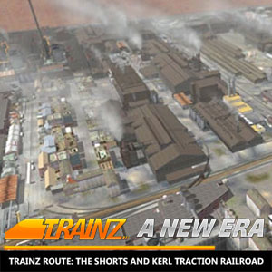 Trainz A New Era Trainz Route The Shorts and Kerl Traction Railroad