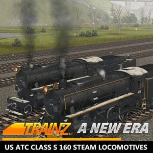 Trainz A New Era US ATC Class S 160 Steam