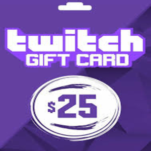 Twitch Gift Card | Digital Gift Card