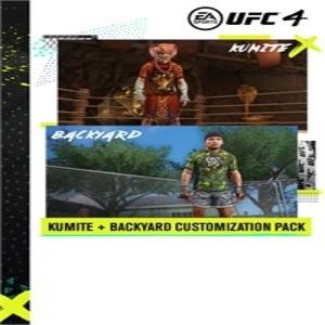 UFC 4 Backyard & Kumite Customization Packs