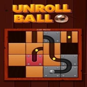 Unroll Ball Slide Puzzle
