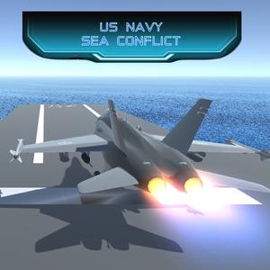 US Navy Sea Conflict