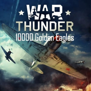 War Thunder 10000 Golden Eagles Gamecard Code Price Comparison