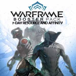 Warframe 7-day Resource and Affinity Booster Packs Digital Download Price Comparison