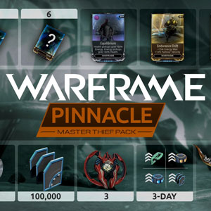 Warframe Master Thief Pinnacle Pack