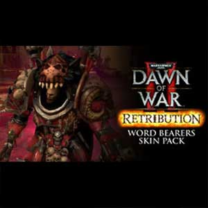 Warhammer 40K Dawn of War 2 Retribution Word Bearers Skin Pack Digital Download Price Comparison