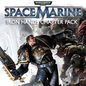 Warhammer 40k Space Marine Iron Hands Chapter Pack