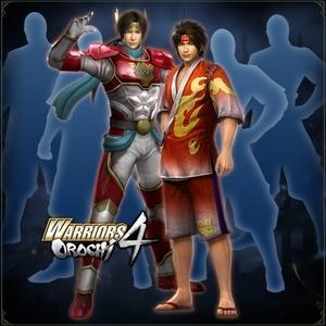 WARRIORS OROCHI 4 Legendary Costumes Pack
