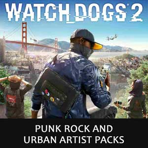 Watch Dogs 2 Punk Rock and Urban Artist Packs Digital Download Price Comparison