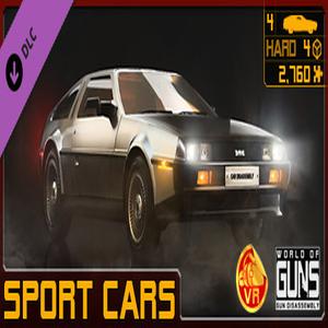 World of Guns VR Sport Cars Pack Digital Download Price Comparison