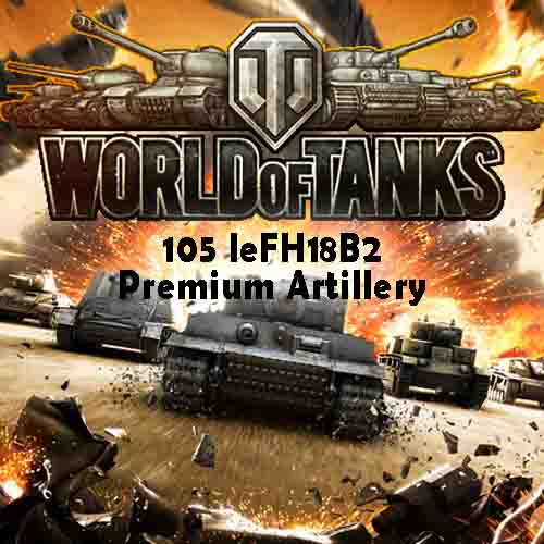 World of Tanks 105 leFH18B2 Premium Artillery Digital Download Price Comparison