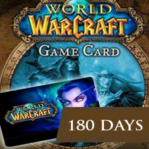 World of Warcraft 180 Days Gamecard Code Price Comparison
