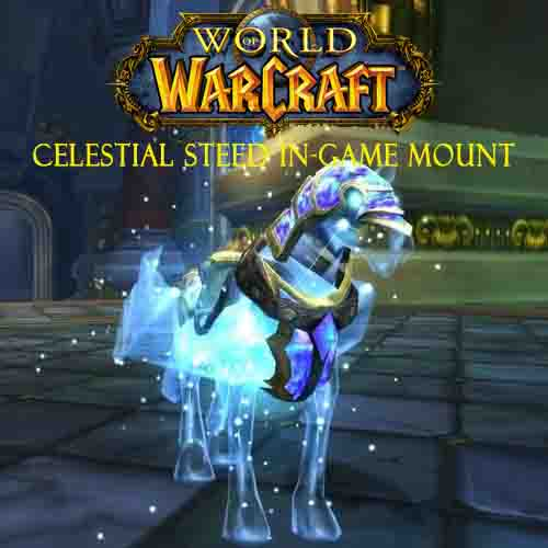 World Of Warcraft Celestial Steed In-Game Mount Digital Download Price Comparison